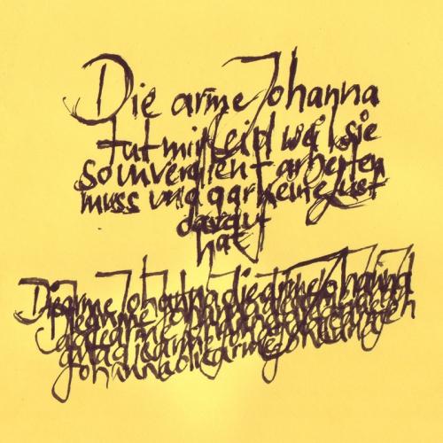 Scripendium Die arme Johanna
